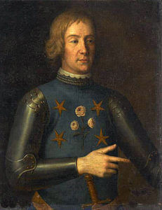 Nicolas Béhuchet French Admiral captured and hanged after the Battle of Sluys on 24th June 1340 in the Hundred Years War