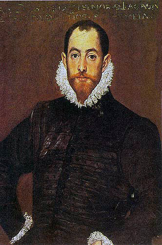 Alonso de Leiva, captain of La Rata Encoronada, shipwrecked three times on the coast of Western Ireland, finally dying: Spanish Armada June to September 1588