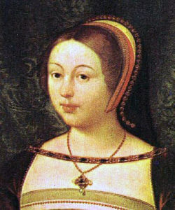 Margaret Tudor, daughter of King Henry VII, sister of King Henry VIII, Queen of Scotland and wife of King James IV. In 1513 Margaret watched James leave for the war from a tower of Linlithgow Palace, now called Margaret's Bower: Battle of Flodden on 9th September 1513