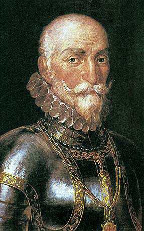 Marquis de Santa Cruz: the intended commander of the Armada who died before it could sail: Spanish Armada June to September 1588