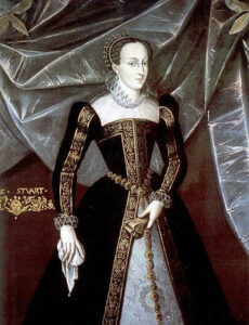 Mary Queen of Scots: executed by Queen Elizabeth I as the focus of Catholic plotting against the English Crown. Mary's death may have been the final trigger for the launching of the Armada against England: Spanish Armada June to September 1588