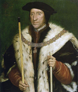 Thomas Howard, the Lord Admiral, and commander of one of the English divisions at the Battle of Flodden. The portrait shows Howard as the 3rd Duke of Norfolk: Battle of Flodden 9th September 1513