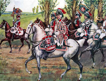 15th and 21st Light Dragoons: Battle of Emsdorf on 14th July 1760 in the Seven Years War