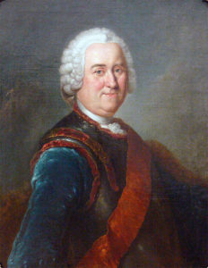 Field Marshal James Keith, Frederick the Great's general, killed at the Battle of Hochkirch on 14th October 1758 in the Seven Years War