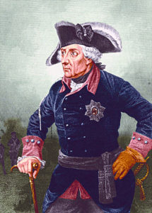 Frederick the Great King of Prussia: Battle of Leuthen 5th  December 1757 in the Seven Years War