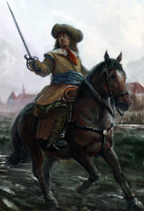 Battle of Seacroft Moor 30th March 1643 in the English Civil War