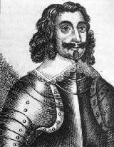Sergeant Major General Philip Skippon, commander of the Parliamentary Left Wing and the London Trained Bands at the First Battle of Newbury on 20th September 1643 in the English Civil War