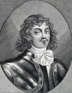 Lord Wilmot, Royalist Commander at the Battle of Lostwithiel, 11th August to 2nd September 1644 in the English Civil War