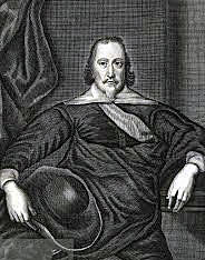 Lord Ralph Hopton, de facto Royalist commander at the Battle of Cheriton on 29th March 1644 in the English Civil War