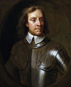Olive Cromwell, whose charge was decisive at the Battle of Marston Moor on 2nd July 1644 in the English Civil War