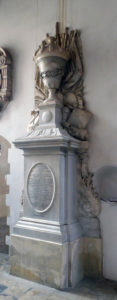 Memorial to Viscount Grandison, Christchurch Cathedral, Oxford: Storming of Bristol on 26th July 1643