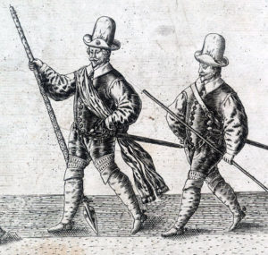 London Trained Bands-the regiments that fought so well for Parliament at the First Battle of Newbury on 20th September 1643 in the English Civil War