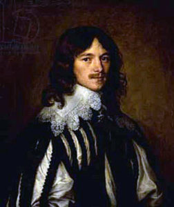 Lucius Cary, 2nd Viscount Falkland, killed at the First Battle of Newbury on 20th September 1643 in the English Civil War