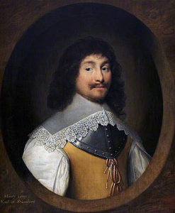 Henry Grey, 1st Earl of Stamford, Parliamentary commander at the Battle of Stratton on 16th May 1643