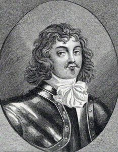 Lord Wilmot, Royalist Commander at the Battle of Roundway Down on 13th July 1643 during the English Civil War