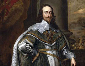 King Charles I, who commanded the Royalist Army at the First Battle of Newbury on 20th September 1643 in the English Civil War