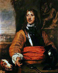 Sir Charles Lucas, deputy commander of the Royalist left wing at the Battle of Marston Moor 2nd July 1644 in the English Civil War