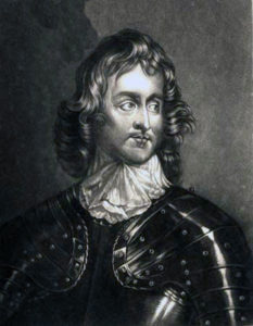 Major-General Sir John Lambert, a Parliamentary cavalry commander on the right wing at the Battle of Marston Moor on 2nd July 1644 in the English Civil War