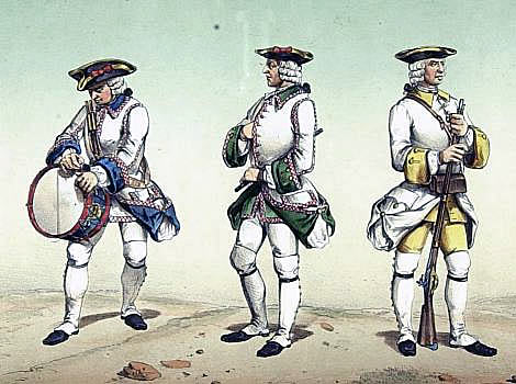 Spanish Infantry: Capture of Manilla 6th October 1762 in the Seven Years War