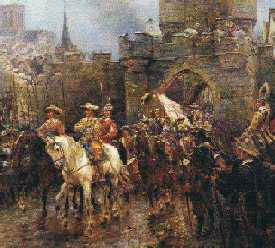 Surrender of the City of York on 2nd July 1645