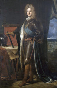 Duc de Noailles French Commander at the Battle of Dettingen fought on 16th June 1743 in the War of the Austrian Succession