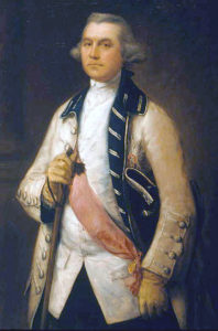 General William Draper, British army commander at the Capture of Manilla 6th October 1762 in the Seven Years War