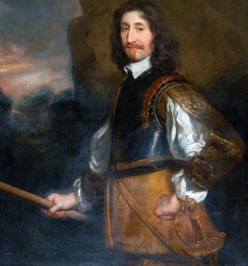 Earl of Manchester, Parliamentary commander at the Battle of Marston Moor on 2nd July 1644 in the English Civil War