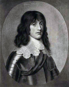 rince Maurice, Royalist Commander of the 'Cornish Army' in the storming of Bristol on 26th July 1643 in the English Civil War