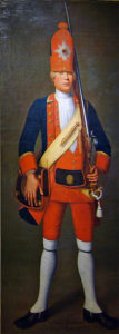 Russian Grenadier: Battle of Zorndorf 25th August 1758 in the Seven Years War