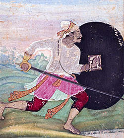 Mughal Warrior: Battle of Arni on 3rd December 1751 in the Anglo-French Wars in India (Second Carnatic War)