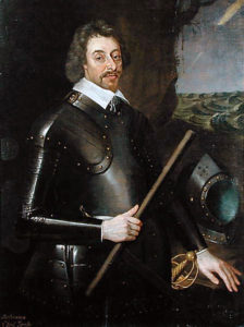 Ferdinando, 2nd Lord Fairfax, Parliamentary Commander at the Battle of Marston Moor on 2nd July 1644 in the English Civil War