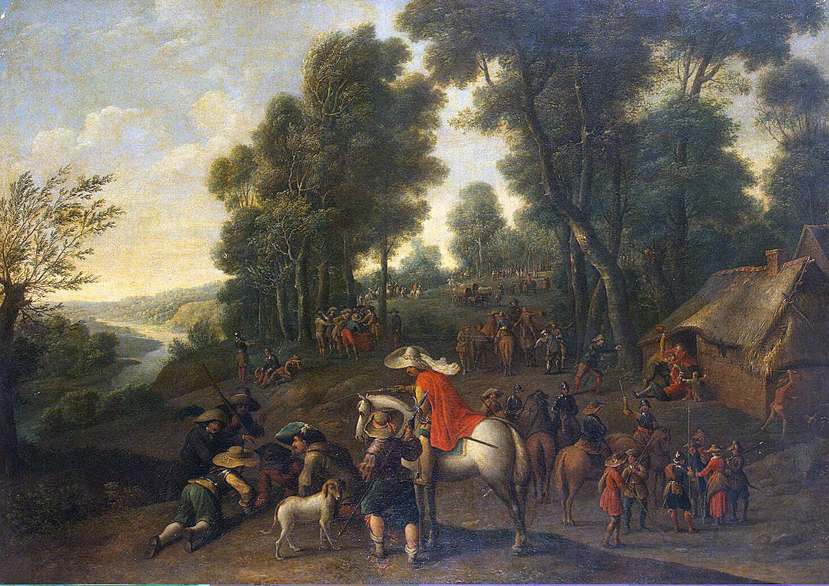 Cavaliers' Encampment: Battle of Lostwithiel 11th August to 2nd September 1644 in the English Civil War
