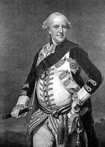 Prince Ferdinand, Duke of Brunswick, allied commander at the Battle of Minden 1st August 1759 in the Seven Years War
