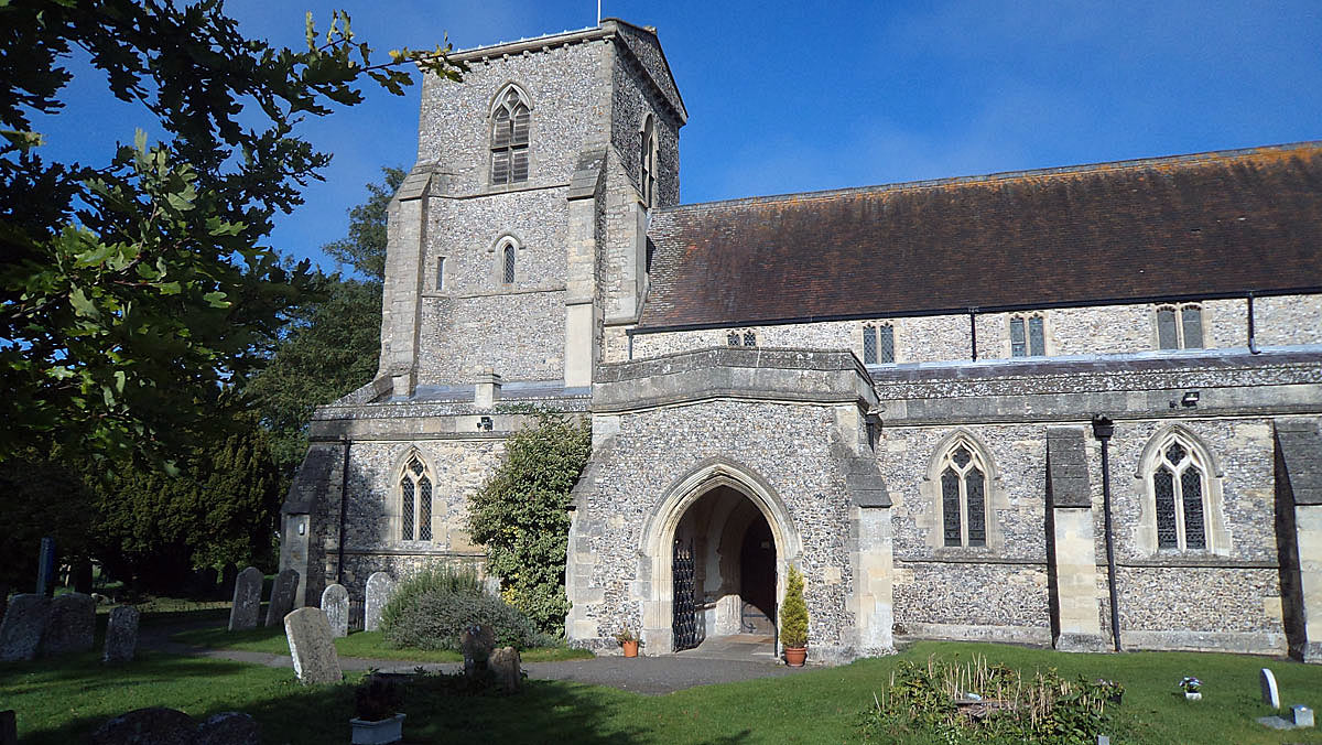 Chinnor Church: Battle of Chalgrove 18th June 1643 in the English Civil War