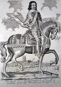 Lord Stamford, Parliamentary Commander at the Battle of Stratton on 16th May 1643