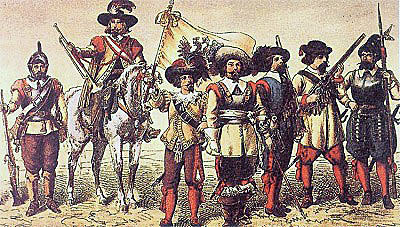 Soldiers of the English Civil War period: First Battle of Newbury 20th September 1643