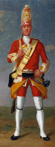 Grenadier of 12th Foot: Battle of Minden on 1st August 1759 in the Seven Years War: David Morier
