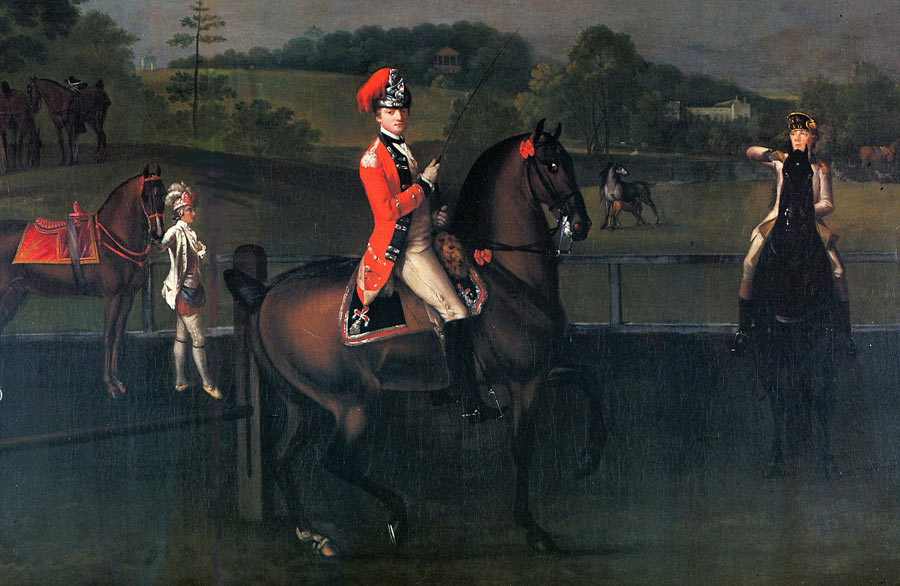 Captain Floyd of the 15th Light Dragoons: Battle of Emsdorf on 14th July 1760 in the Seven Years War