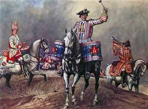 British Cavalry in the Seven Years War: Battle of Warburg on 31st July 1760 during the Seven Years War