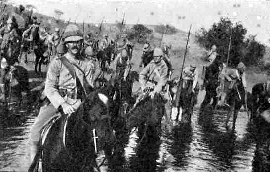 5th Lancers in South Africa during the Boer War