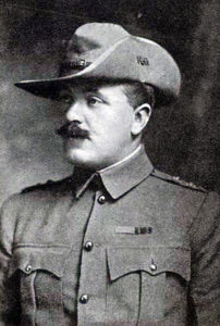 Captain Robert Johnston of the Imperial Light Horse who won the Victoria Cross at the Battle of Elandslaagte on 21st October 1899 in the Great Boer War