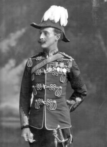 Colonel Ian Hamilton who commanded the British infantry brigade at the Battle of Elandslaagte on 21st October 1899 in the Great Boer War