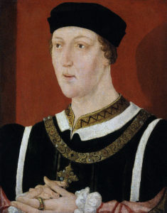 King Henry VI, Lancastrian king at the the First Battle of St Albans, fought on 22nd May 1455 in the Wars of the Roses