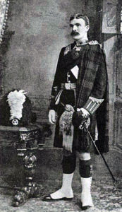 Sergeant Major William Robertson of the 2nd Gordon Highlanders who won the Victoria Cross at the Battle of Elandslaagte on 21st October 1899 in the Great Boer War