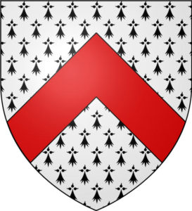 Coat of Arms of Lord Audley: Battle of Blore Heath, fought on 23rd September 1459 in the Wars of the Roses