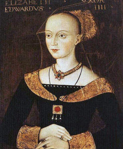 Elizabeth Woodville, future queen of King Edward IV: Second Battle of St Albans, fought on 17th February 1461 in the Wars of the Roses