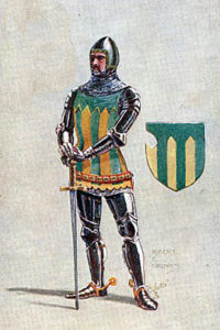 Knight: Second Battle of St Albans, fought on 17th February 1461 in the Wars of the Roses