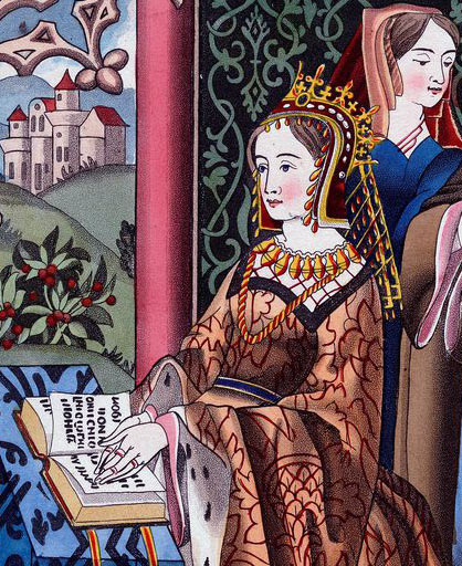 Queen Margaret of Anjou: Second Battle of St Albans, fought on 17th February 1461 in the Wars of the Roses