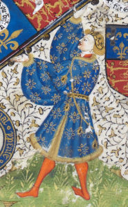 Richard, Duke of York: First Battle of St Albans, fought on 22nd May 1455 in the Wars of the Roses