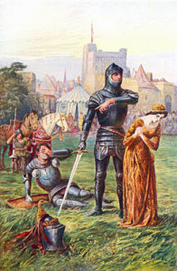 Knight: First Battle of St Albans, fought on 22nd May 1455 in the Wars of the Roses